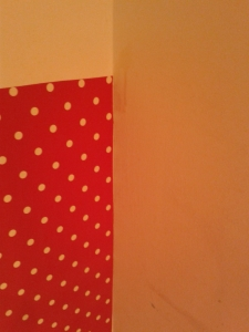 During shot oil cloth behind bin wall upcycle home improvement make my home pretty f