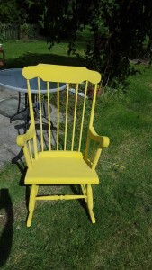 Mams rocking chair after