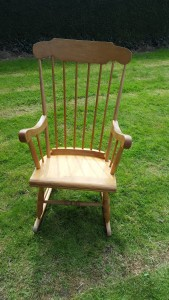 Rocking chair Before shot